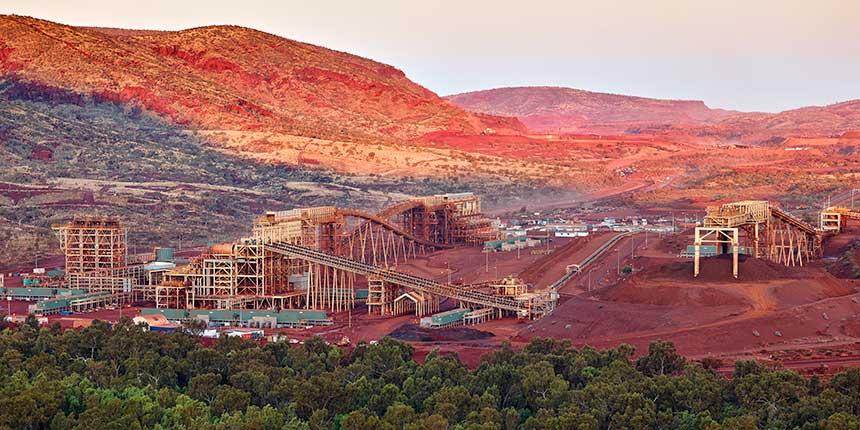 Fortescue's Solomon mine in the Pilbara