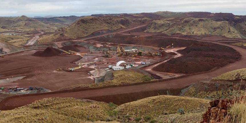Altas Iron's Abydos mine in the Pilbara