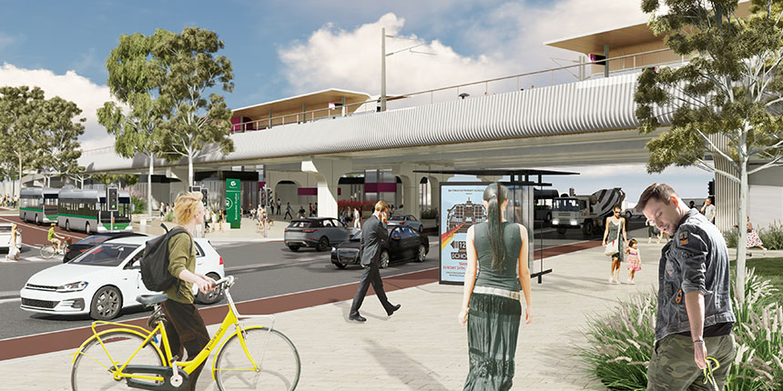 New Bayswater station