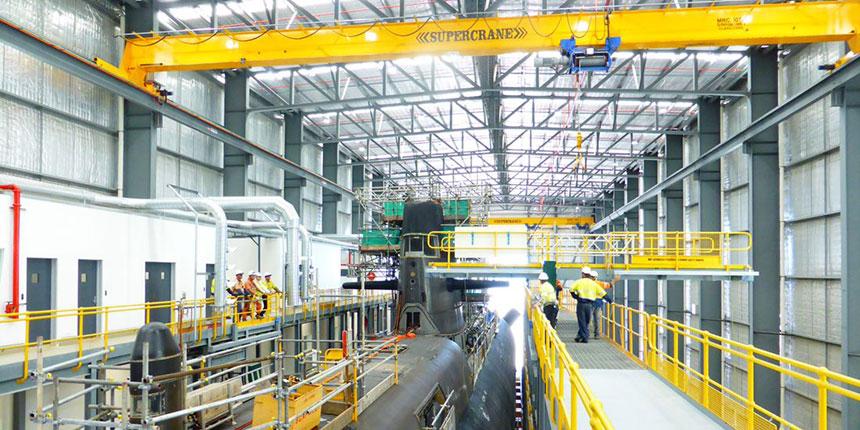 ASC submarine facility