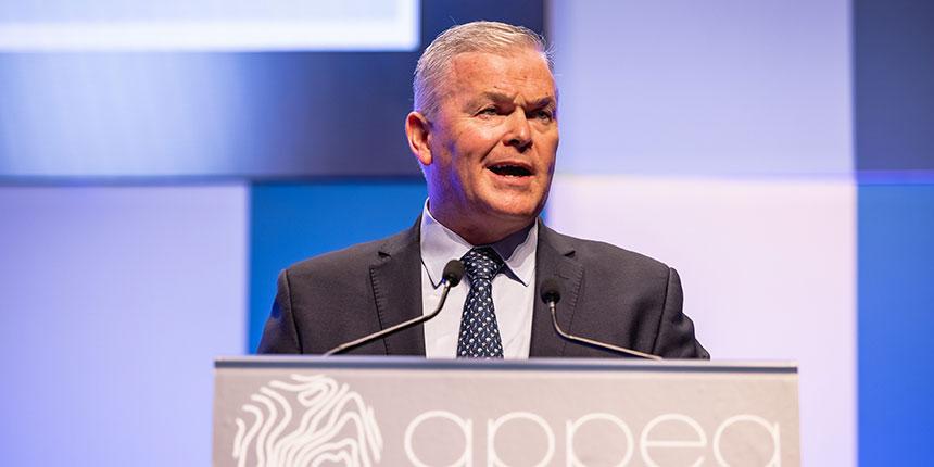 Santos CEO Kevin Gallagher