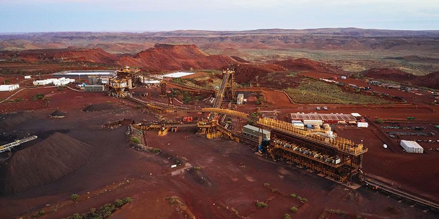 Mining iron ore Pilbara Fortescue