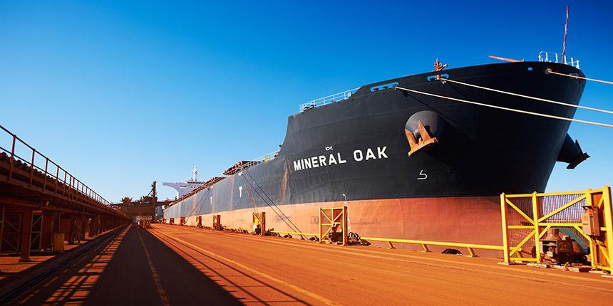 BHP Port Hedland shipping
