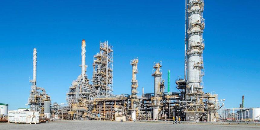 BP refinery heavy industry
