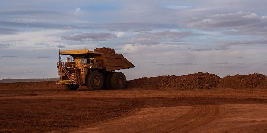 Pilbara iron ore truck