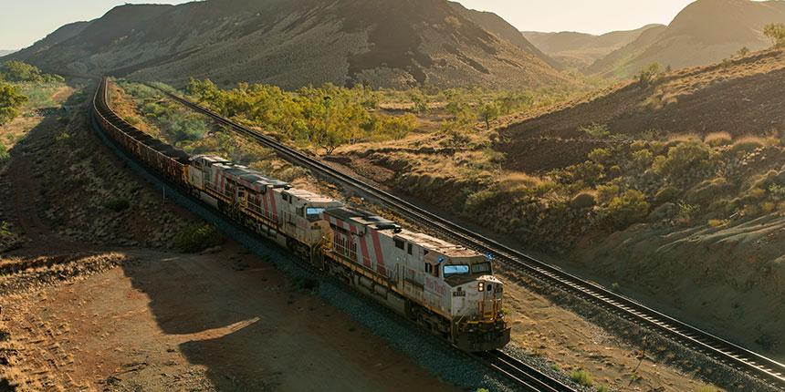 Rio Tinto Autohaul trains